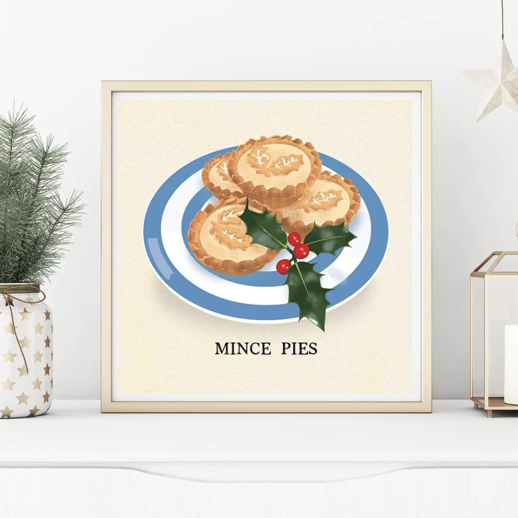 'Mince Pies' Corniche Print
