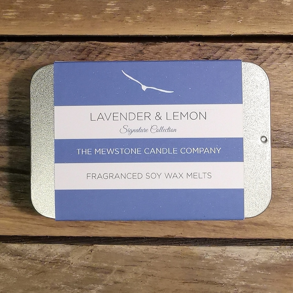 'Lavender & Lemon' Slider Tin