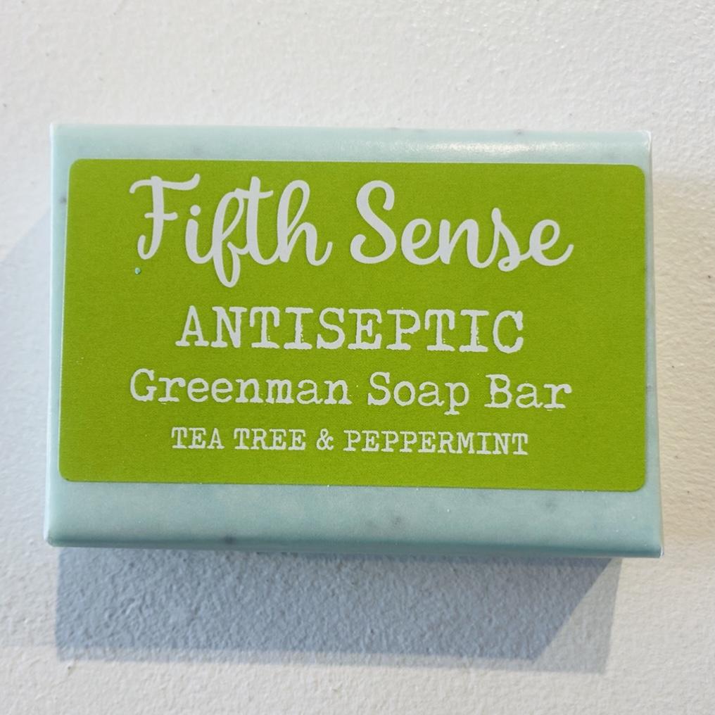 'Antiseptic' Greenman Soap Bar