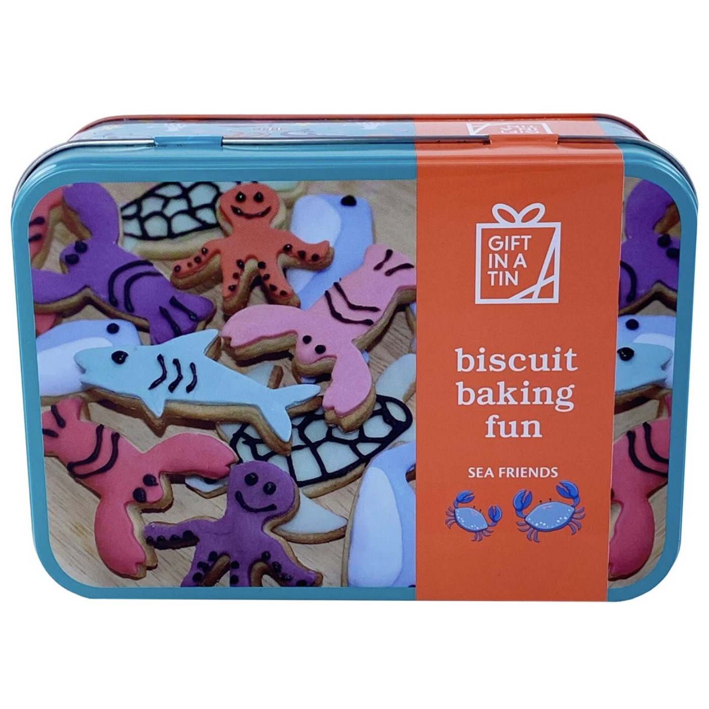 'Biscuit Baking Fun' Gift In A Tin