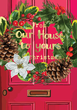 'From Our House To Yours' Fabulous Foils Card