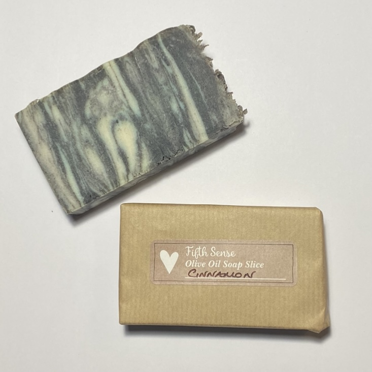 'Cinnamon' Olive Oil Soap Slice