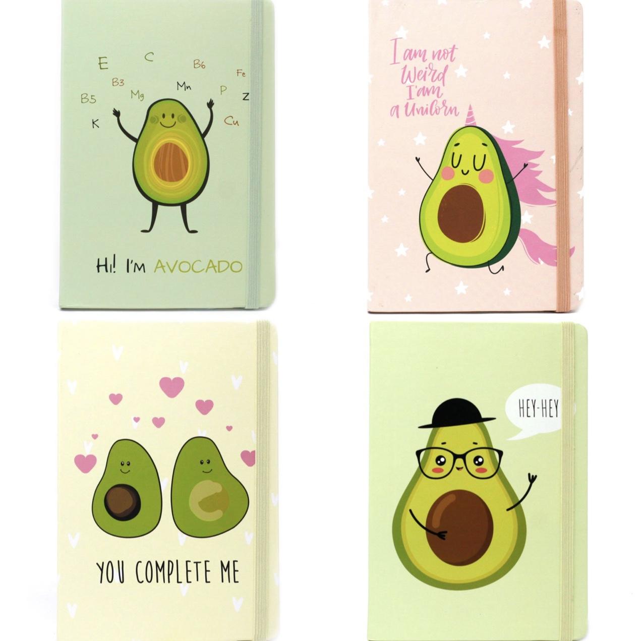 Crazy Avocado Notebook