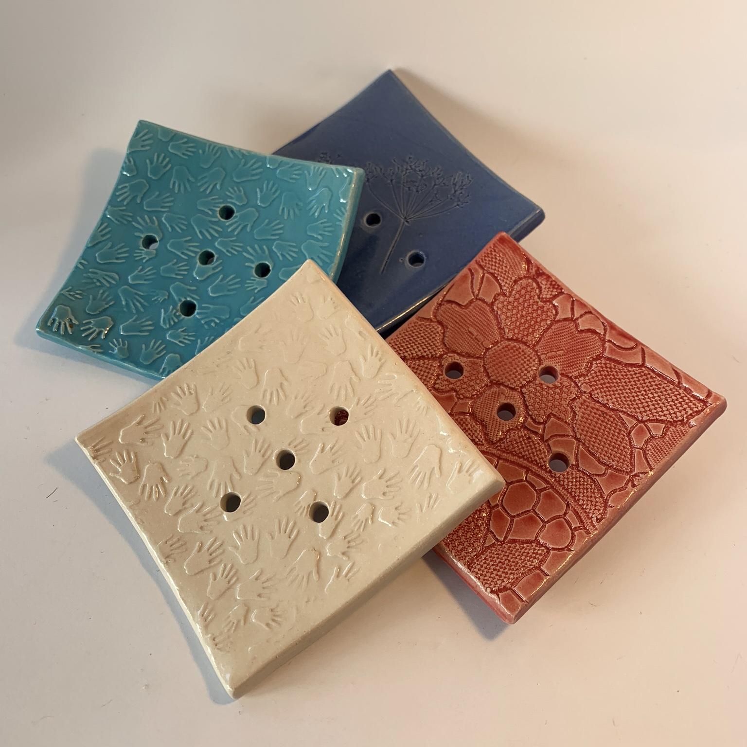 Ceramic Square Soap Dish
