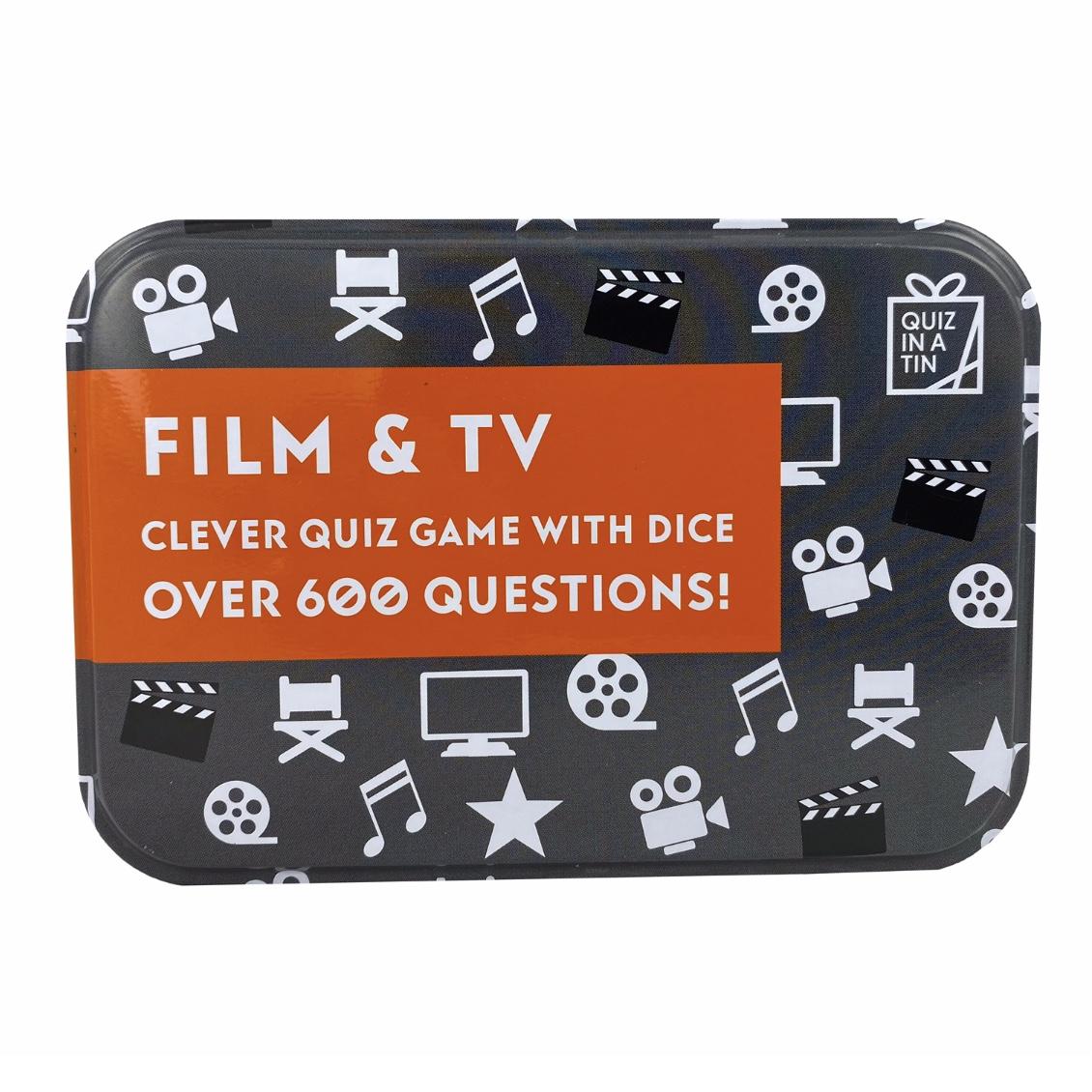 'Film & TV' Quiz in a Tin
