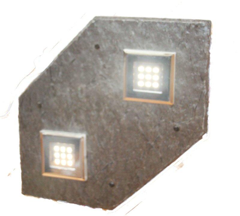 252 Taklampe med Led Downligts 450 x 270 m/rele og tr