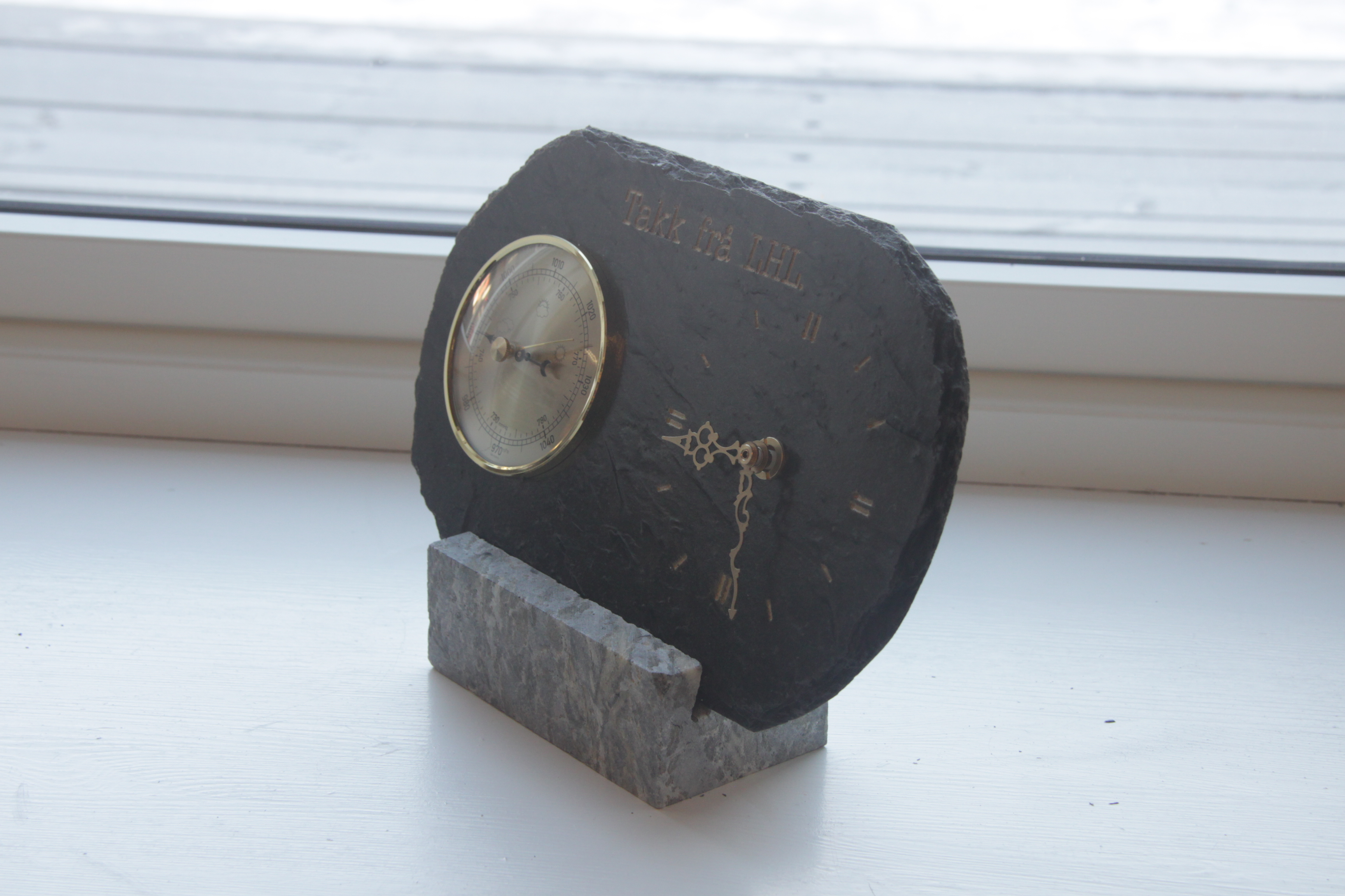 041 Barometer klokke, premie