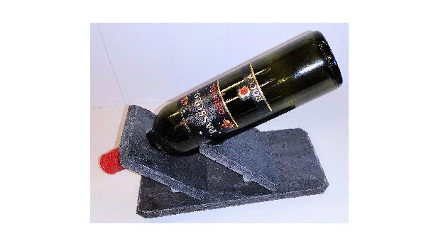 470 Skifer Vinflaskeholder