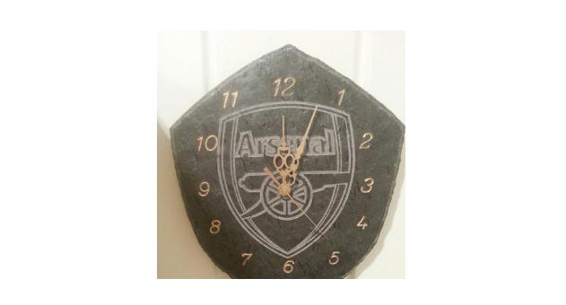 185 Skiferklokke Arsenal Logo