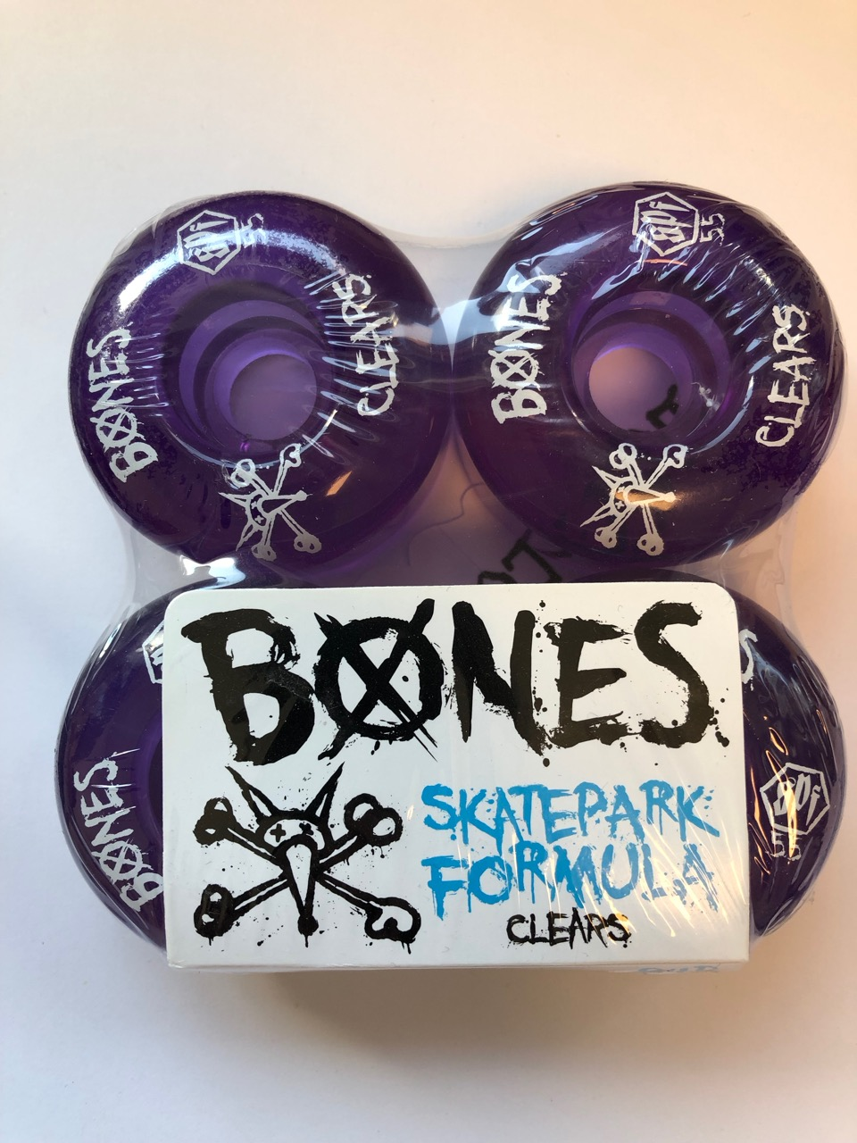 Bones Clears SPF 55mm 4pk