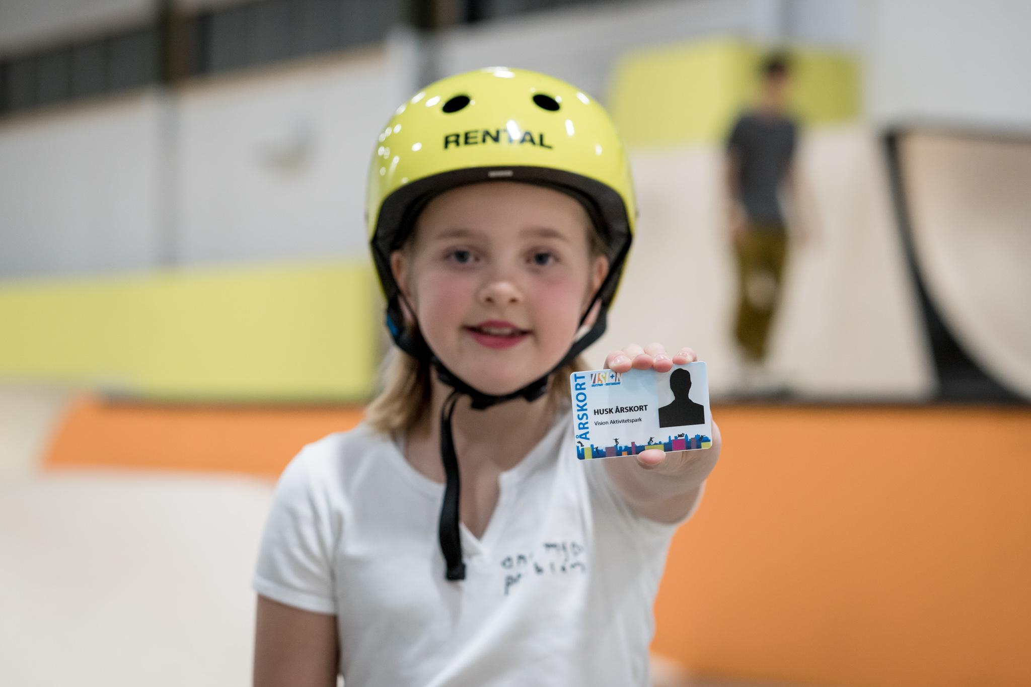 Årskort Skatepark 2021 butikk