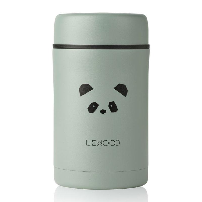 Liewood - Bernard Thermobehälter Panda peppermint