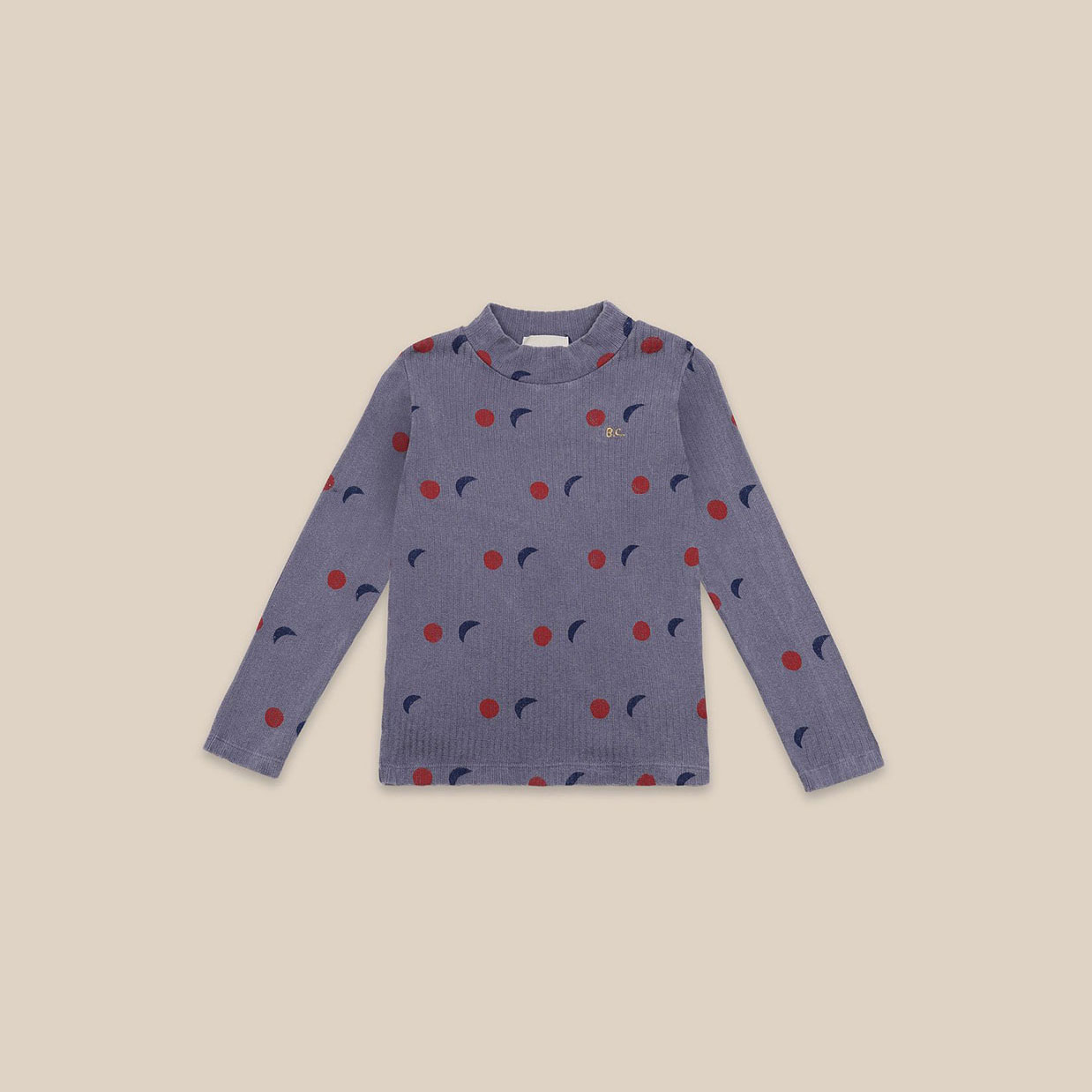 Bobo Choses - Night All Over Turtle Neck T-shirt