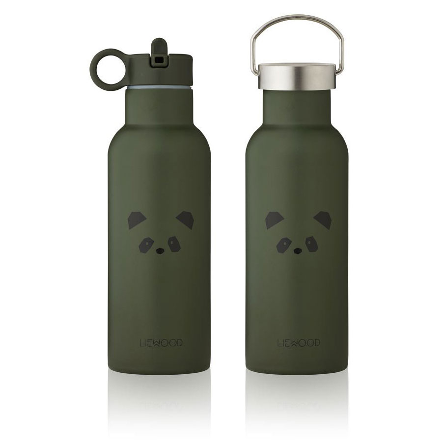 Liewood - Neo Trinkflasche 500ml Panda hunter green