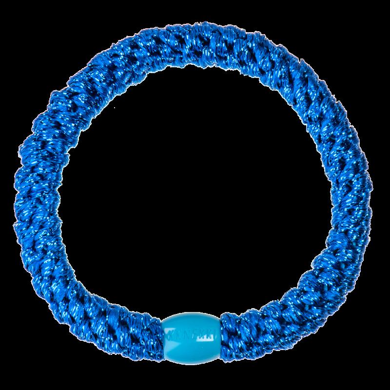 Kknekki - Haargummi Electric Blue Glitter