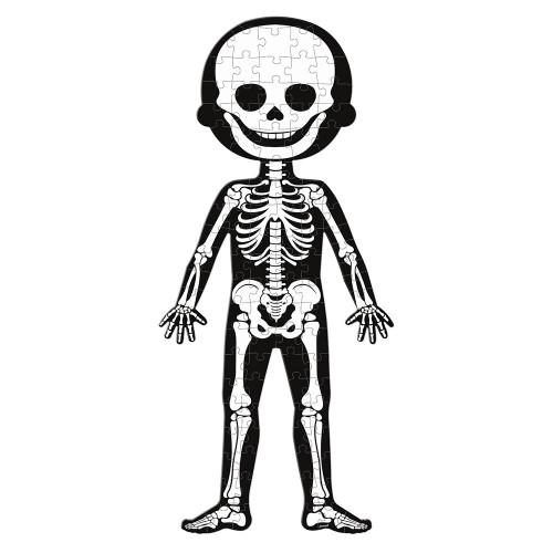 Janod - Körper Edukativ-Puzzle