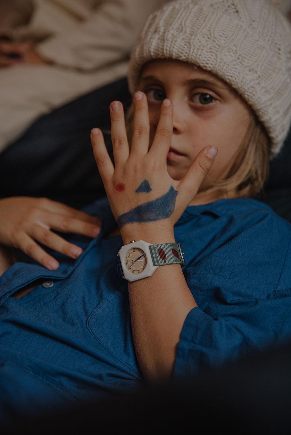 Mini Kyomo - Kinder Armbanduhr Fishies