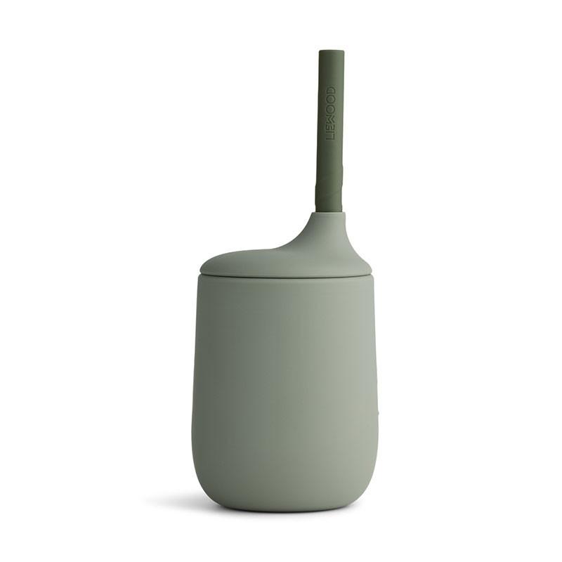 Liewood - Ellis Sippy Cup Trinkbecher faune green/hunter green