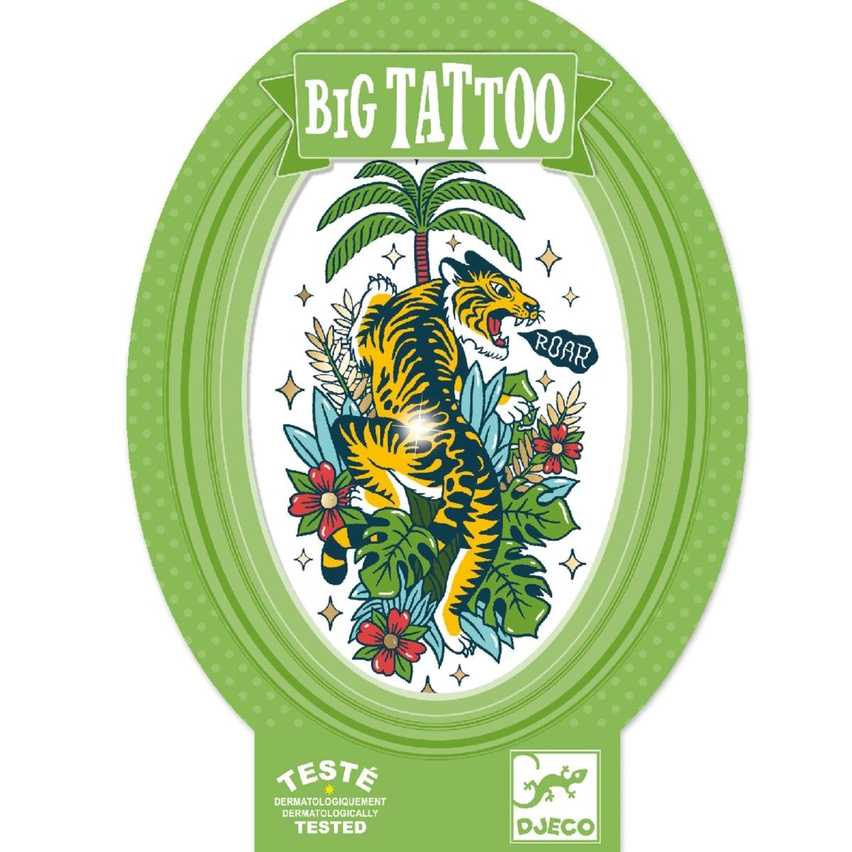Djeco - Big Tattoo Tiger