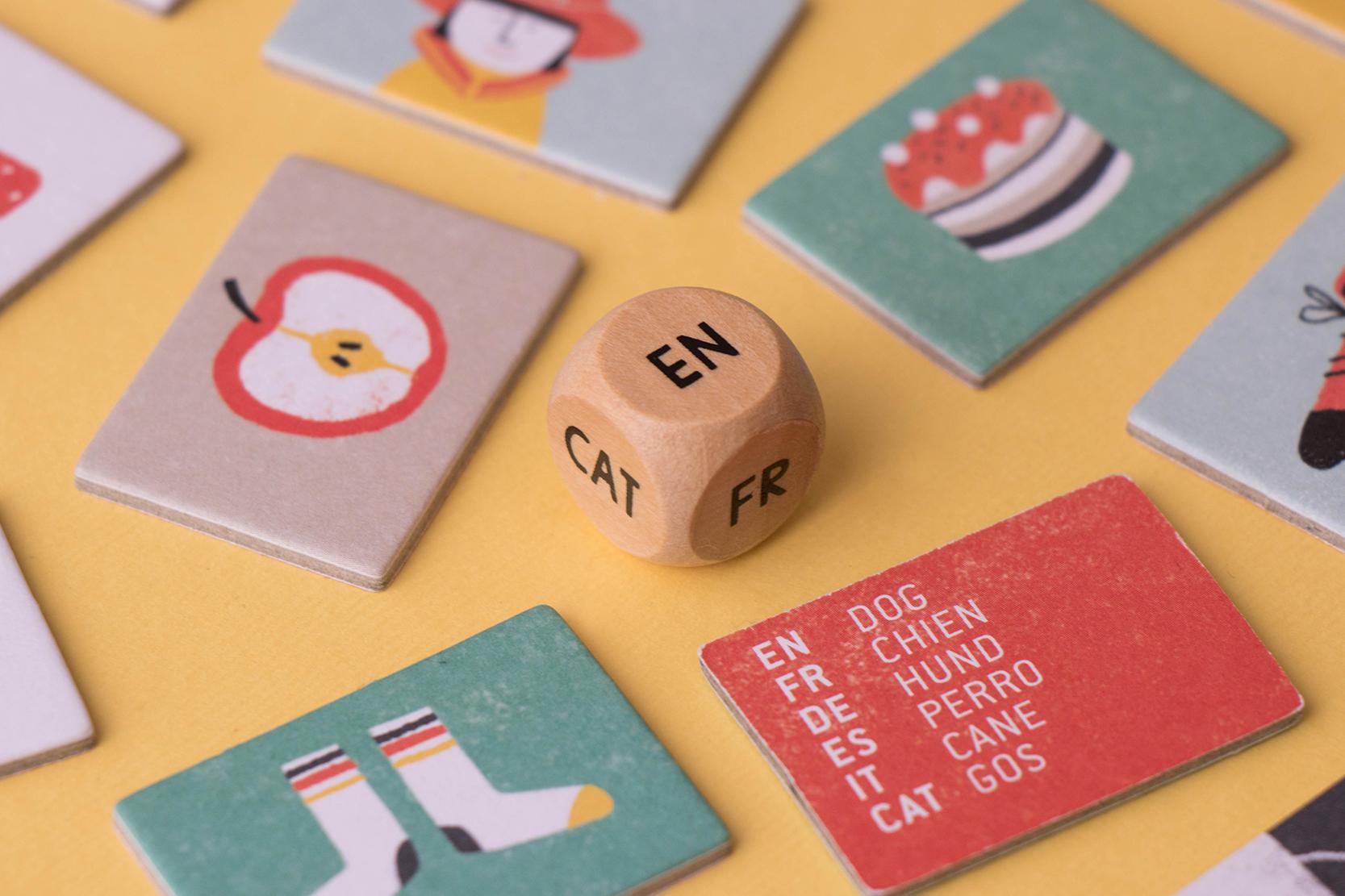 Londji - I speak 6 languages Spiel