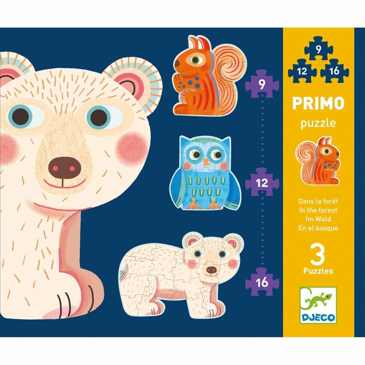Djeco - Primo Puzzle Im Wald