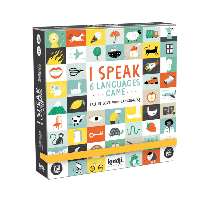 Londji - I speak 6 languages Spiel