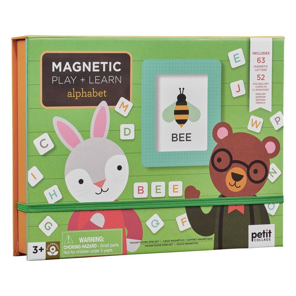 Petit Collage- Magnetspiel Alphabet