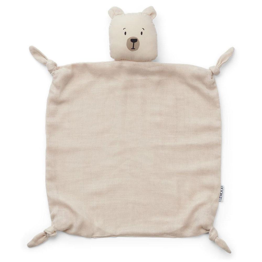 Liewood - Agnete Kuscheltuch Polar bear sandy