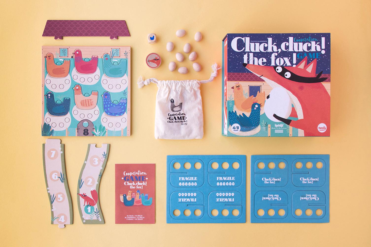 Londji - Cluck, cluck! The Fox! Spiel