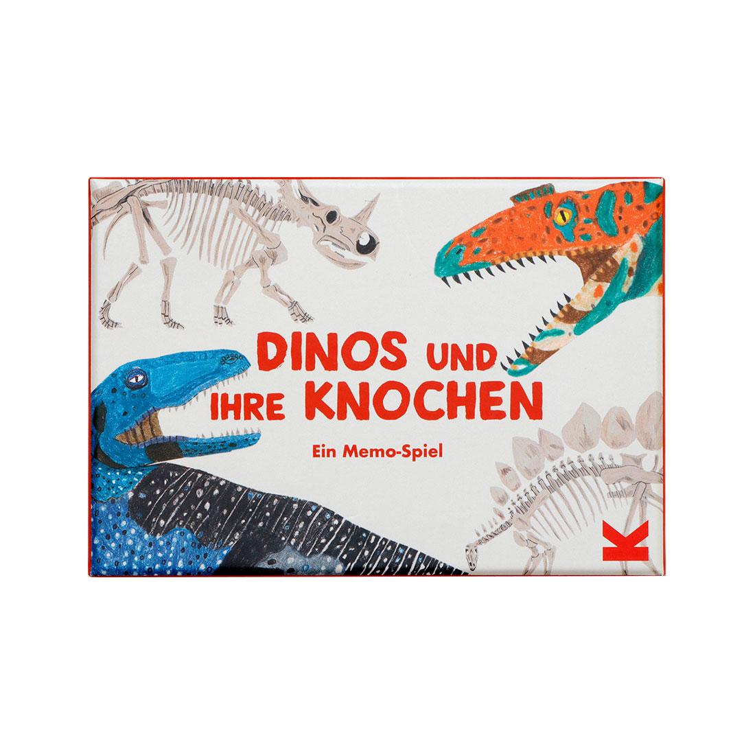 Dinos und ihre Knochen Memo Spiel
