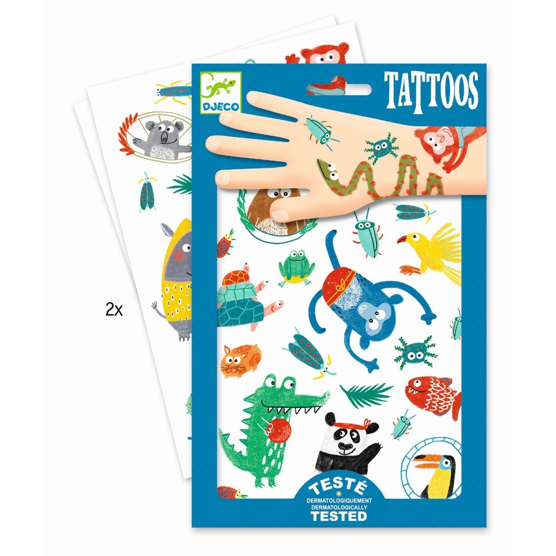 Djeco - Tattoos Tiere