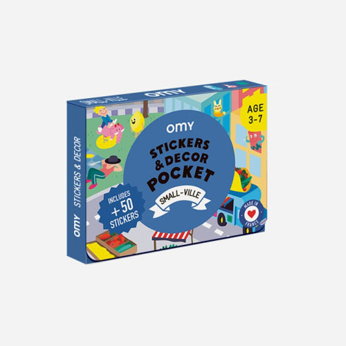 OMY - Pocket Stickers Small Ville