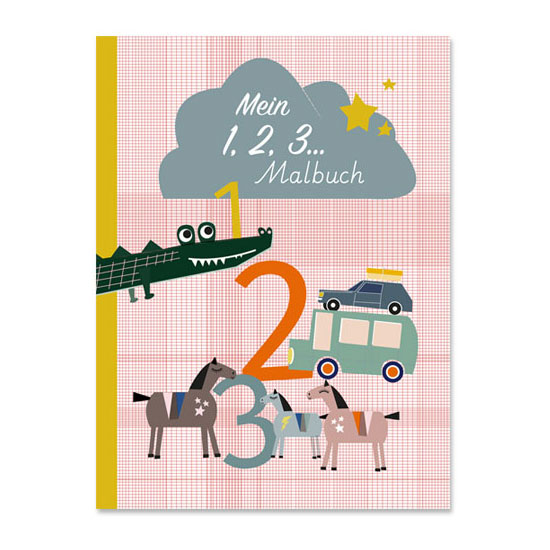 Life is delicious - Mein 1, 2, 3 Malbuch