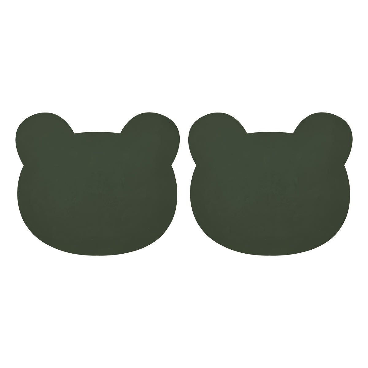 Liewood - Gada Tischet 2er Pack Bear hunter green