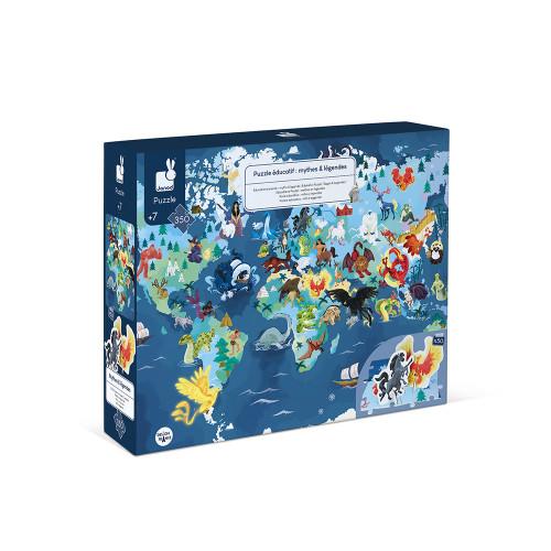 Janod - Sagen & Legenden Edukativ-Puzzle