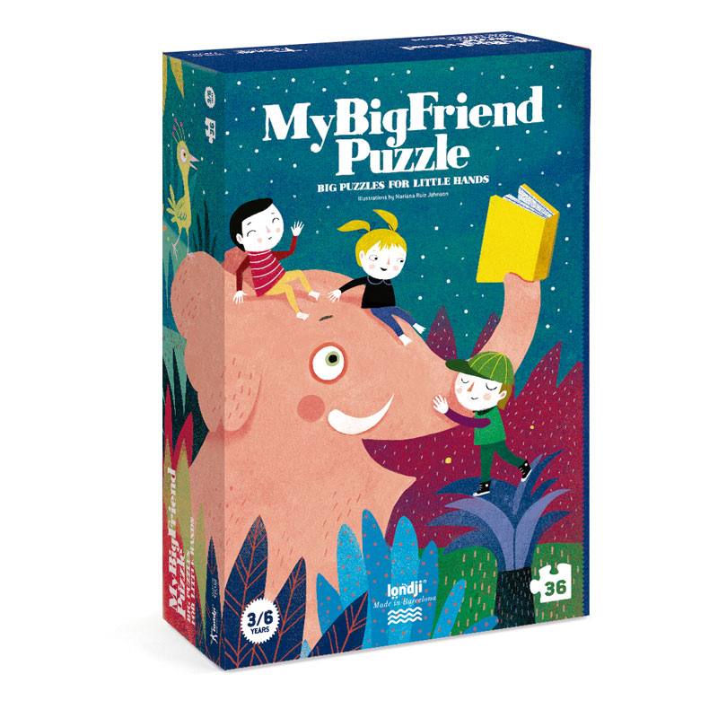 Londji - My Big Friend Puzzle