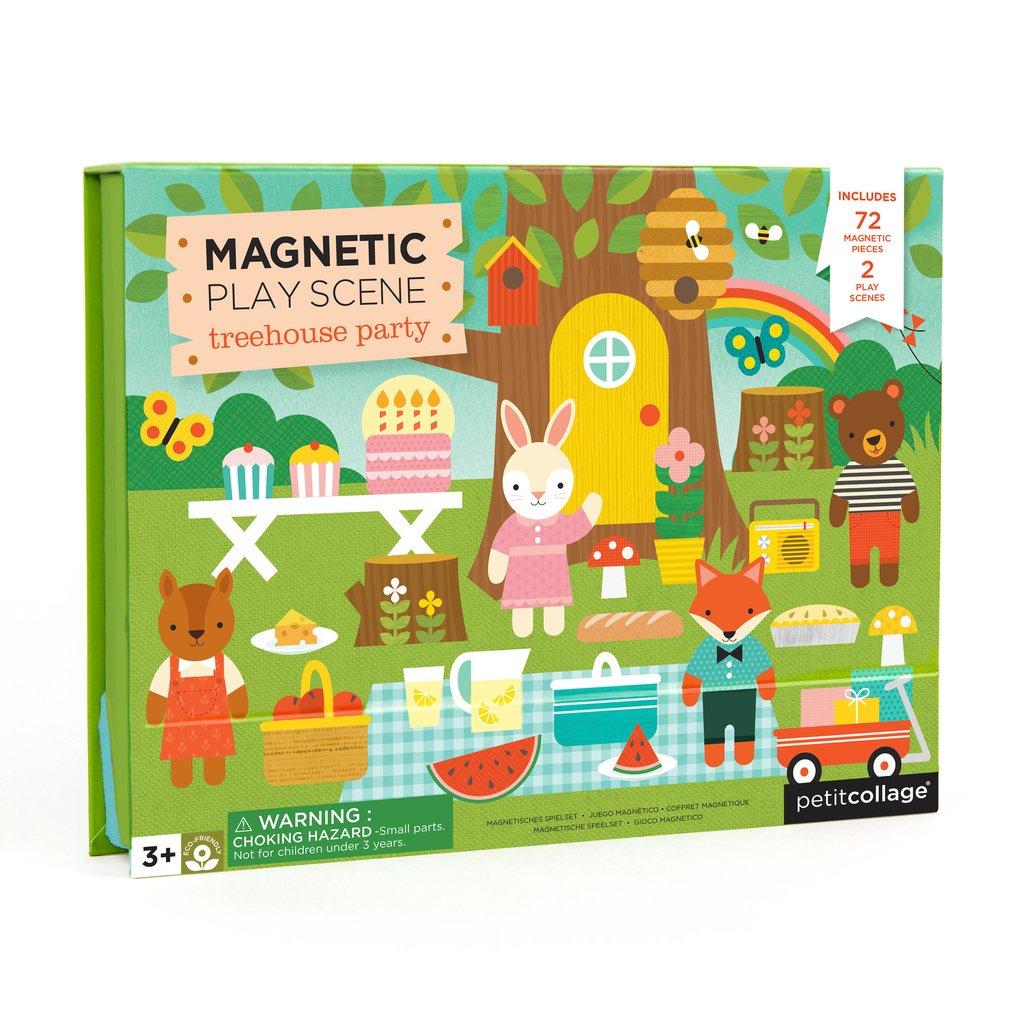 Petit Collage - Magnetspiel Baumhaus