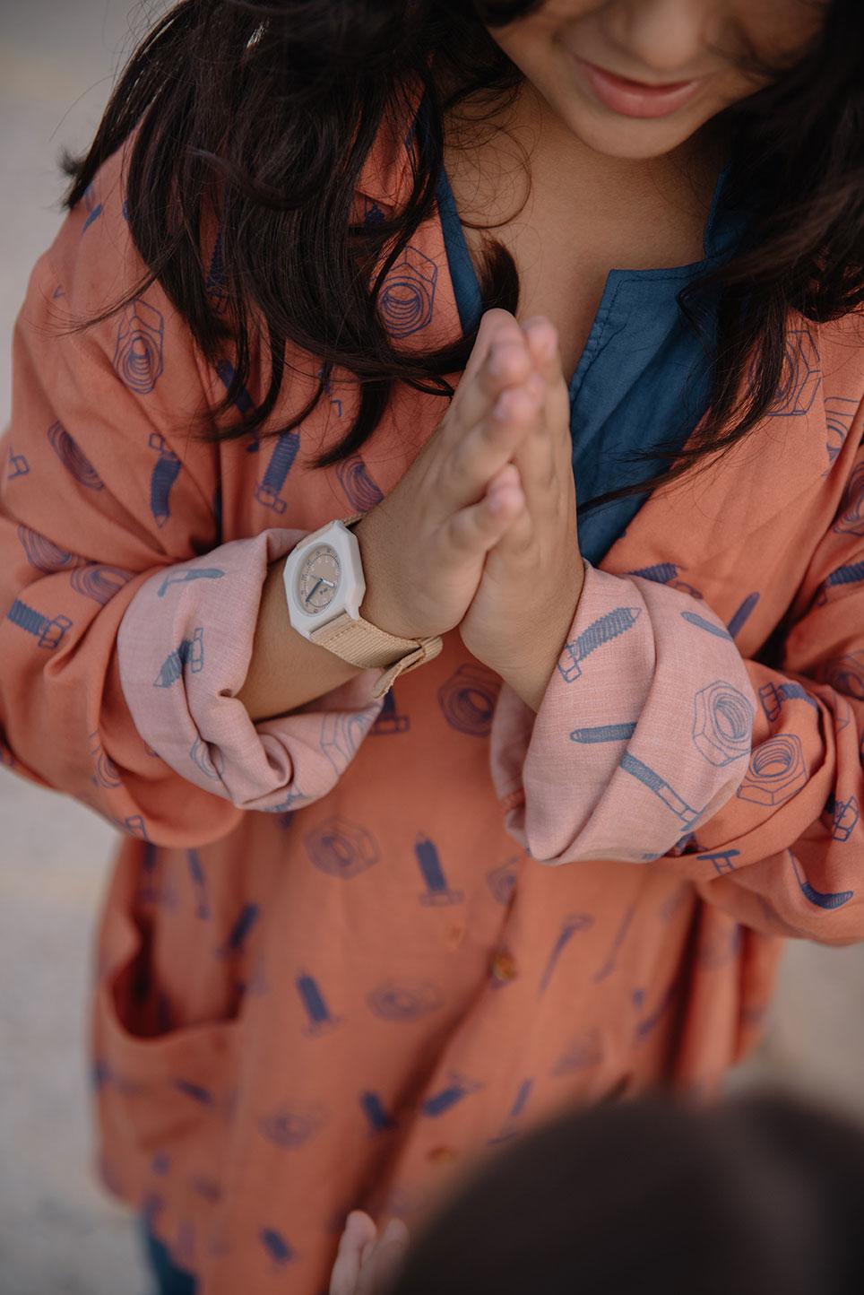 Mini Kyomo - Kinder Armbanduhr Sand