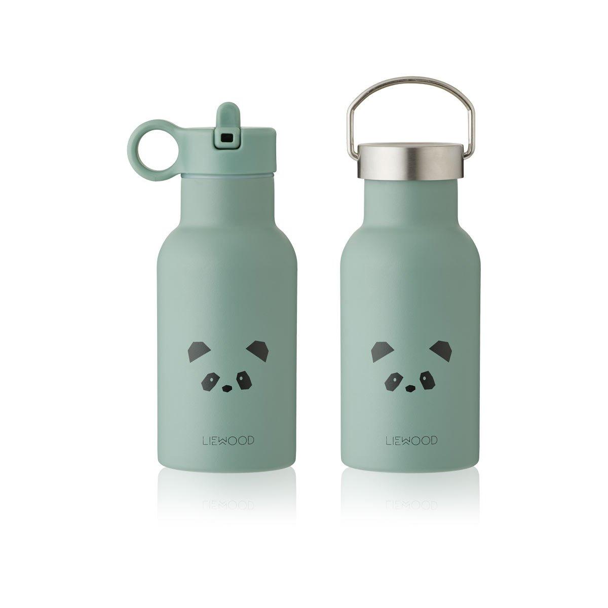 Liewood - Anker Trinkflasche Panda peppermint