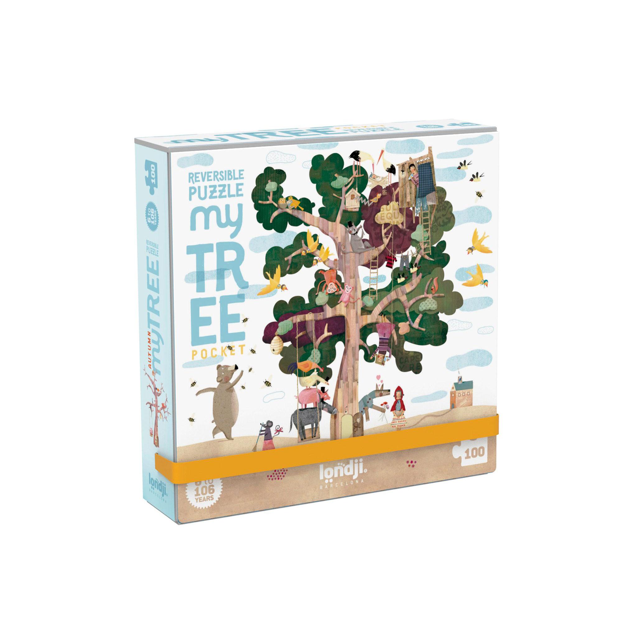 Londji - My Tree Pocket Puzzle