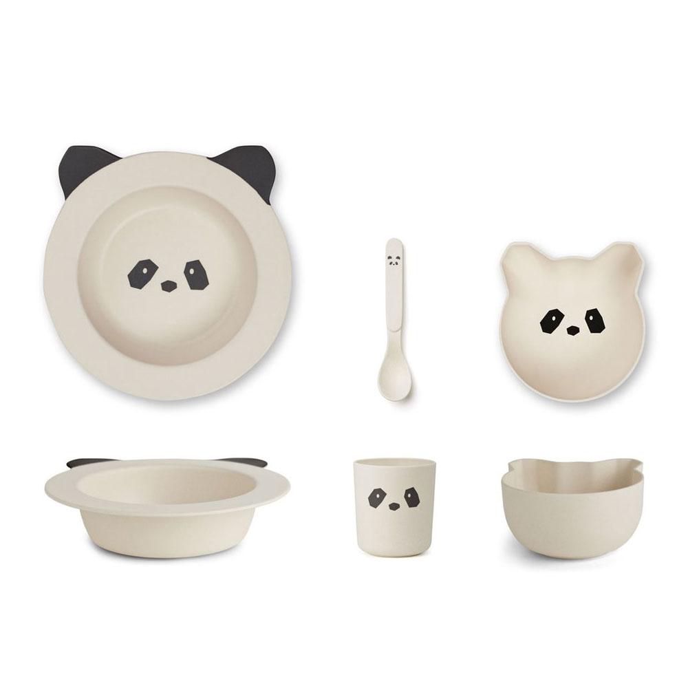 Liewood - Barbara Bamboo Baby Set Panda