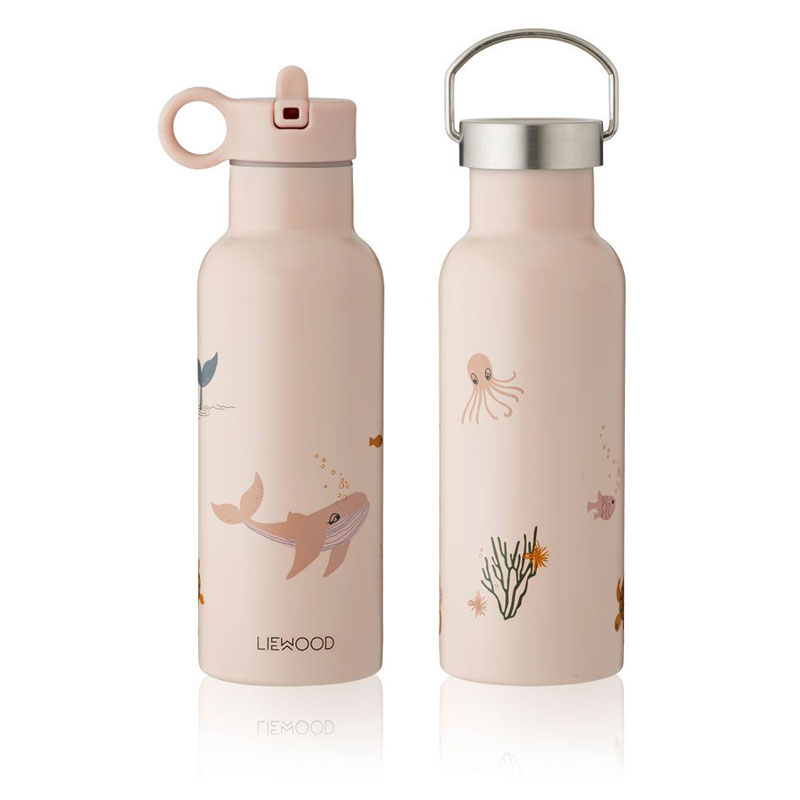 Liewood - Neo Trinkflasche 500ml Sea creature rose mix