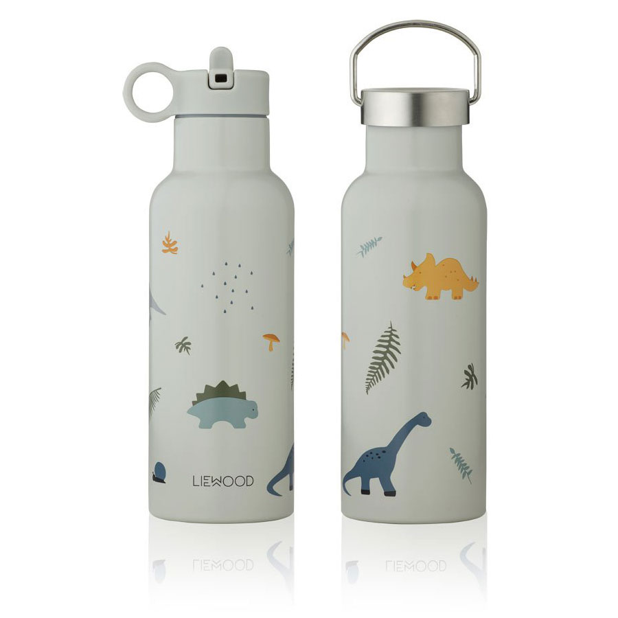 Liewood - Neo Trinkflasche 500ml Dino dove blue Mix