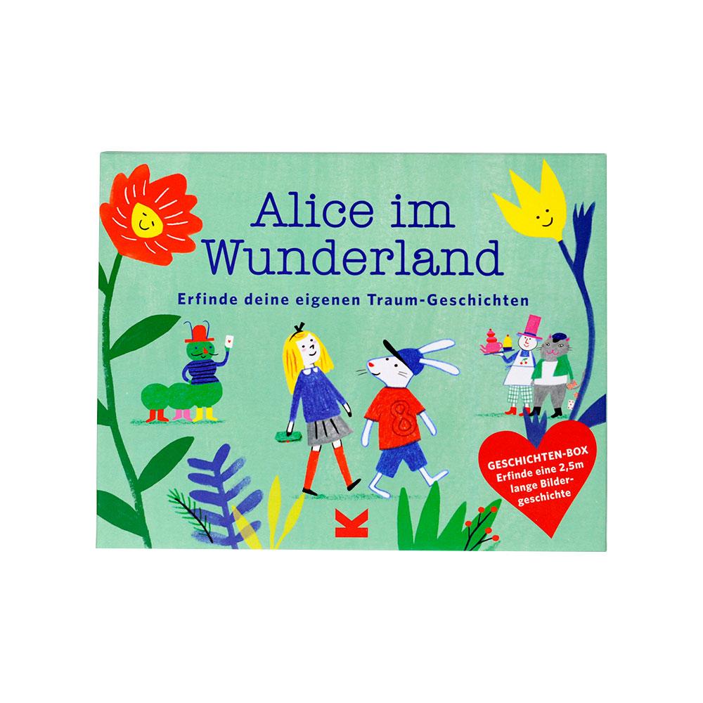 Alice im Wunderland Geschichten-Box