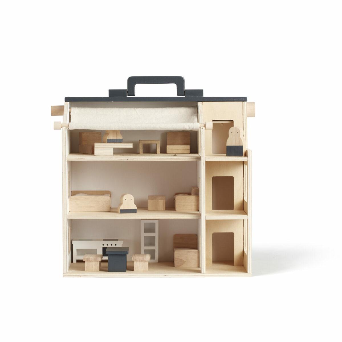 kids concept - Tragbares Puppenhaus Aiden