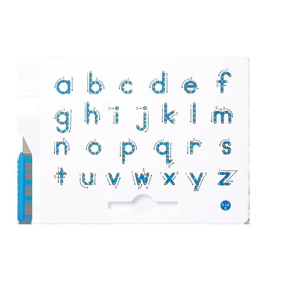 Kid O - A bis Z Kleinbuchstaben Magnatab Magnettafel