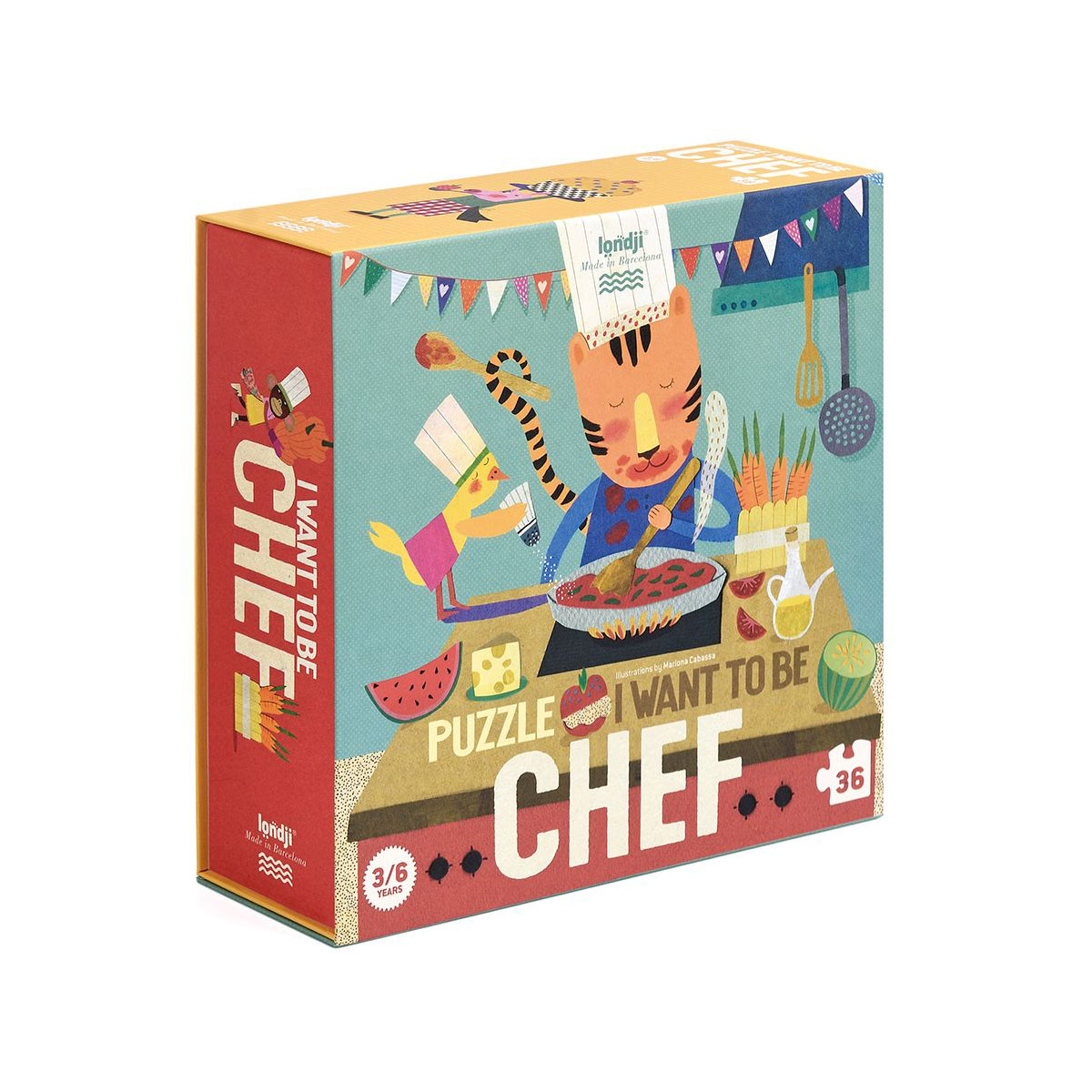 Londji - I want to be Chef Puzzle