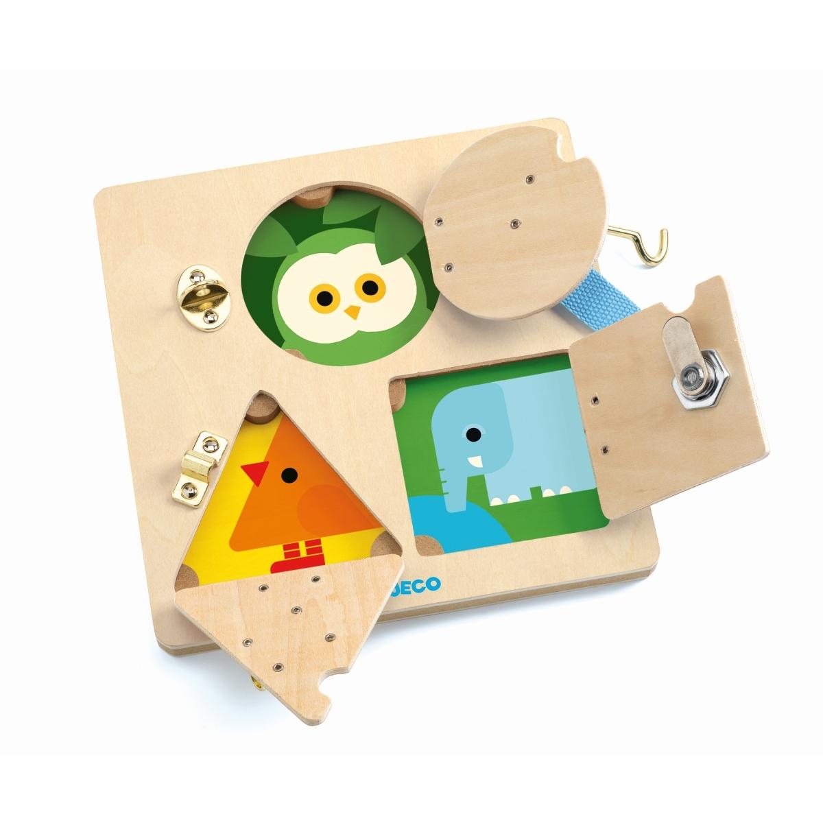 Djeco - Lernspiel LockBasic
