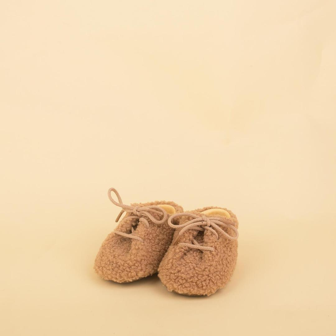 Dulis Shoes - Camel Soft Sheep Bootie