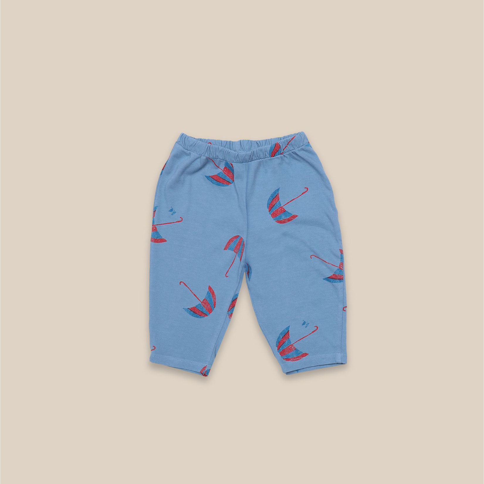 Bobo Choses - Baby Umbrellas All Over Jersey Trousers